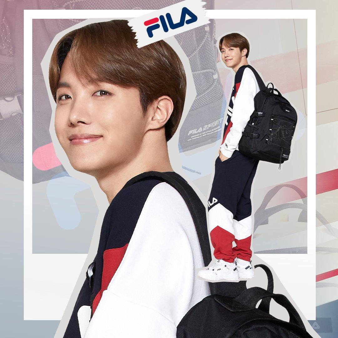 BTS J-Hope Jadi Brand Ambassador FILA Global