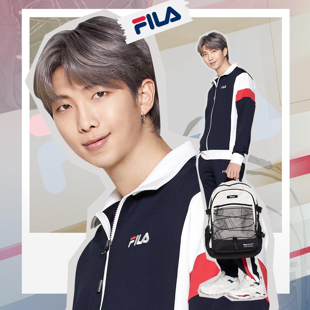 BTS RM Jadi Brand Ambassador FILA Global