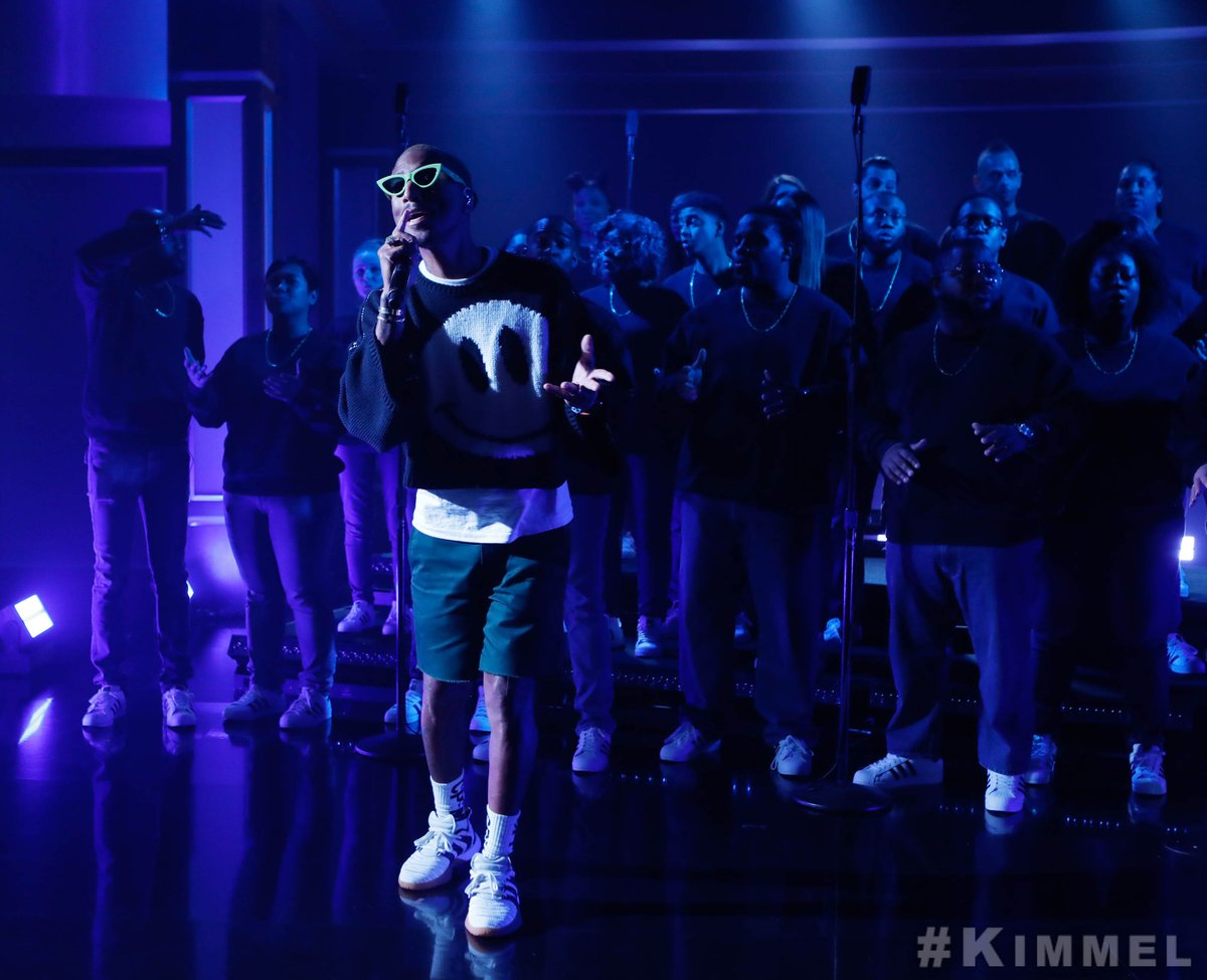 An incredible performance from @Pharrell! #LetterToMyGodfather