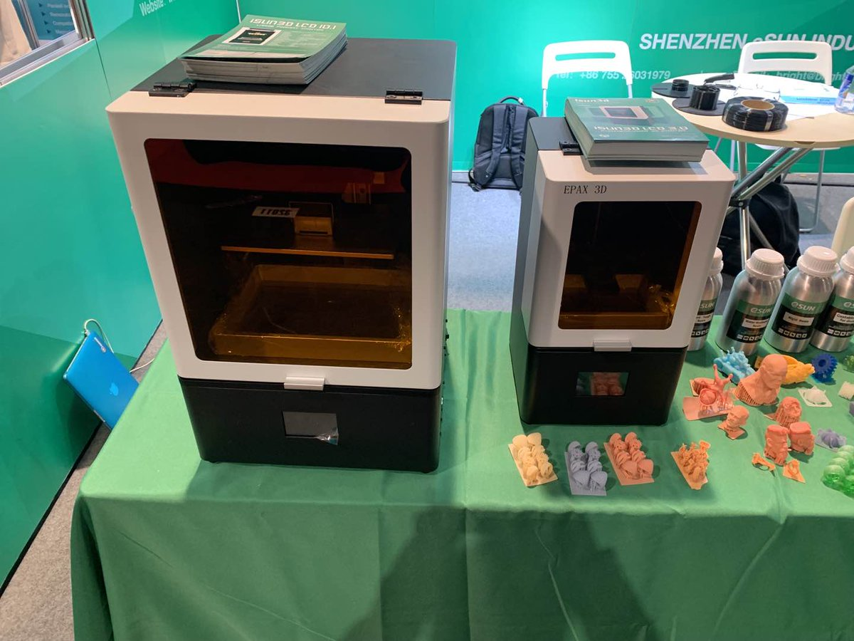 Day 1 at @CES 2020!  Visit #eSUN at Booth #31912 for high quality 3D Printer filaments, Customized #insole solution, #LCD 3D printer and #Resin.  #CES2020 #3dprinting