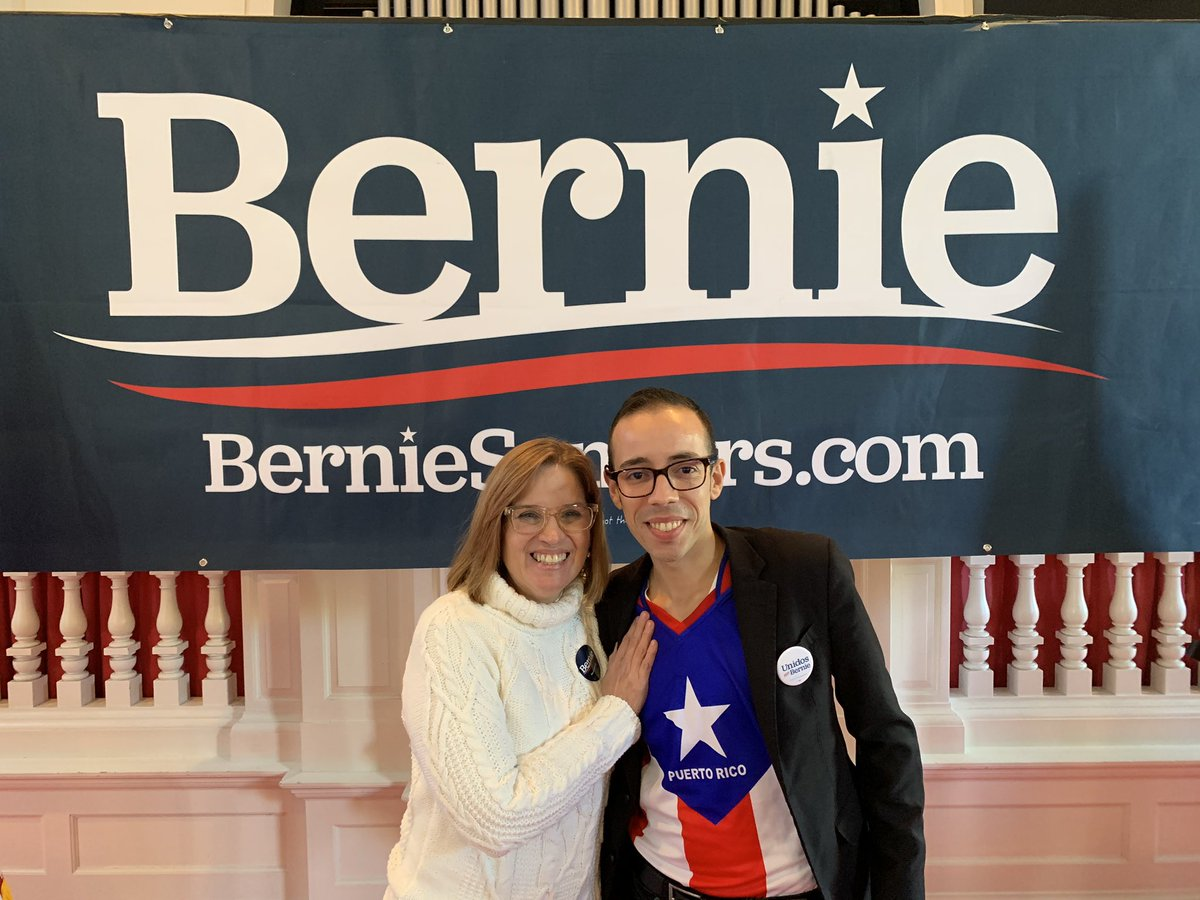 Hey @ninaturner & @CarmenYulinCruz I filled my paperwork to file to run for delegate today. 😁✊ #NotMeUs you both inspired me not to just do the minimum but to fight all the way! ✅if you live in NHCD01 I need your vote ✊🏳️🌈🇵🇷🇺🇸