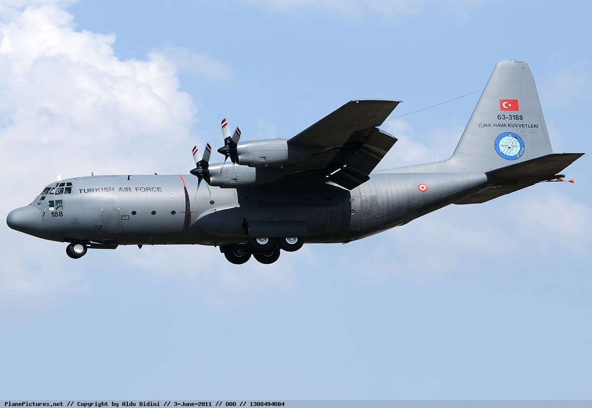 "RDR_47 on Twitter: ""#TurkishAirForce 2 x #C130E, operating from ..."