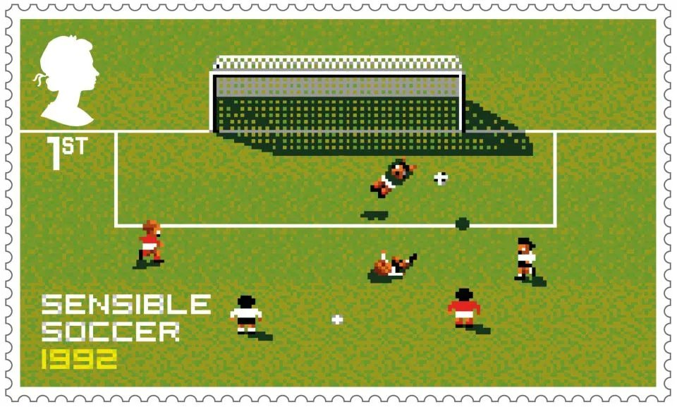 This new Sensible Soccer stamp is MAGNIFICENT!