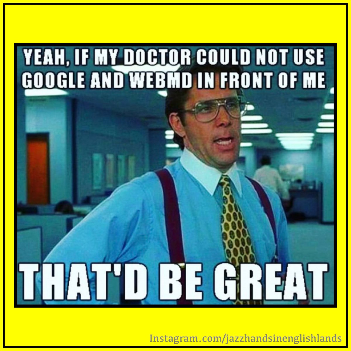 Dr Google  #Doctor #DrGoogle #DoctorMemes #MedicalMeme #Busted #ComeOnNow #NoShame #SoWeird #ThatWasntSupposedToHappen #YeahDontDoThat #Awkward #DontGetIt #CheekyBugger #DontMindMe #GoodLuckWithThat #HaaangOnAMinute #ICanSeeYou #WhatDidYouDoThatFor #Truth #DoubleTake @Kathbumpic.twitter.com/8h8KKJW8bH