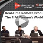 Image for the Tweet beginning: Video: Real-Time #RemoteProduction For The