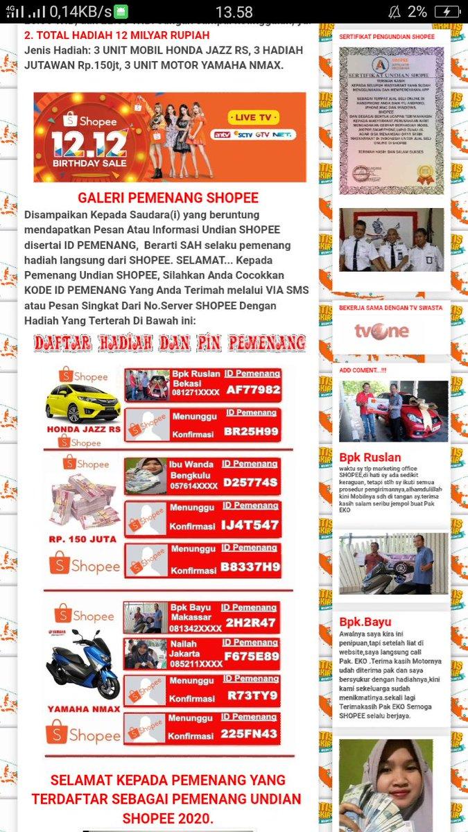 Shopee Indonesia A Twitter Wah Sorry Banget Nih Kak Shopee Gak