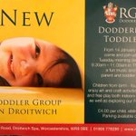 Image for the Tweet beginning: New Toddler group in #Droitwich