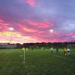 Image for the Tweet beginning: Year 7 Girls Footballers enjoying