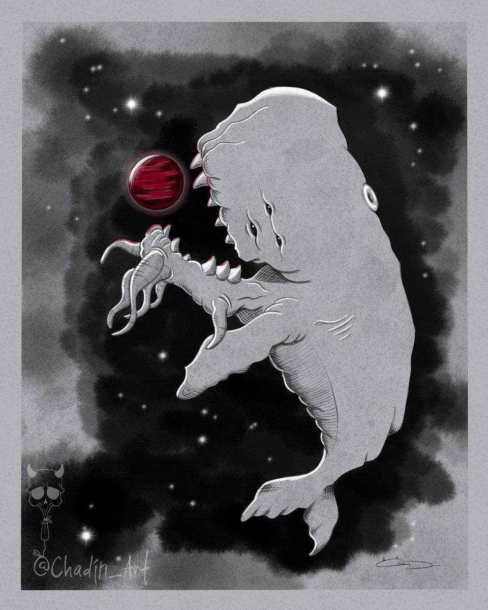 Space Whale, made by #me on #procreate (SCP-2146)  #horror_sketches #thehorrorgallery #gothart #homesweethell  #horrorartwork #creepmachine #darkart #spookyart #creepycute #darkillustration #scaryart #macabreart #weirdoart #monster #chadinart #spacewhale #scp #scpfoundationpic.twitter.com/9LwaTW6bSa