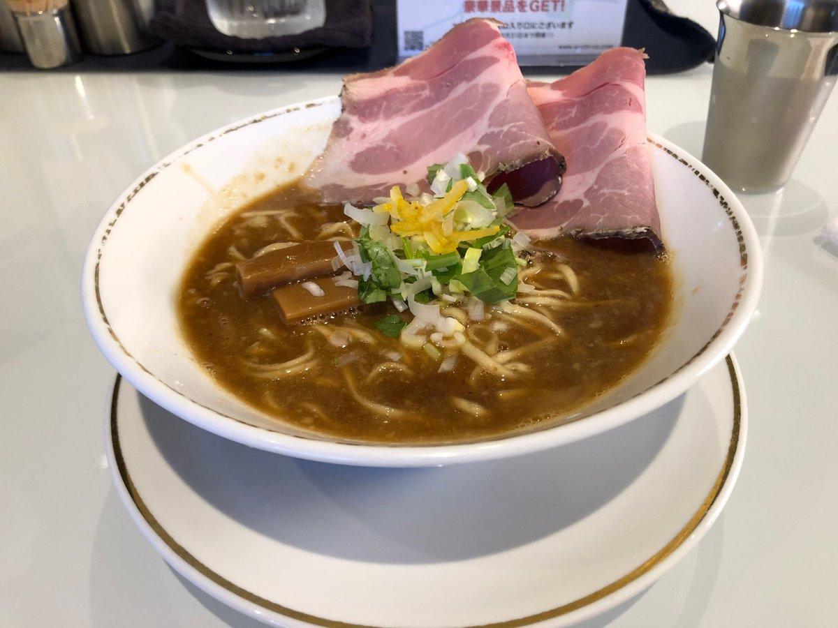 ラーメンは色々な味があるな〜 個性だらけ。 そして、またまた美味いやつや! 初訪問ですが、RIKUTOを注文。 オイスター最高!  #TAKAHIRORAMEN  #ジョーテラス