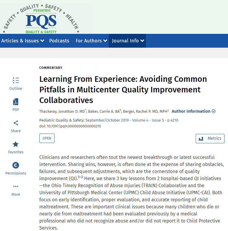 We're not always very good at sharing what didn't work in our QI projects. This article aims to do just that & shares the learning from 2 QI projects.   https://t.co/GwHgTWPdi7  @theQCommunity @FabNHSStuff @Evidence4QI @sw_fab https://t.co/JlJgjAGrGX