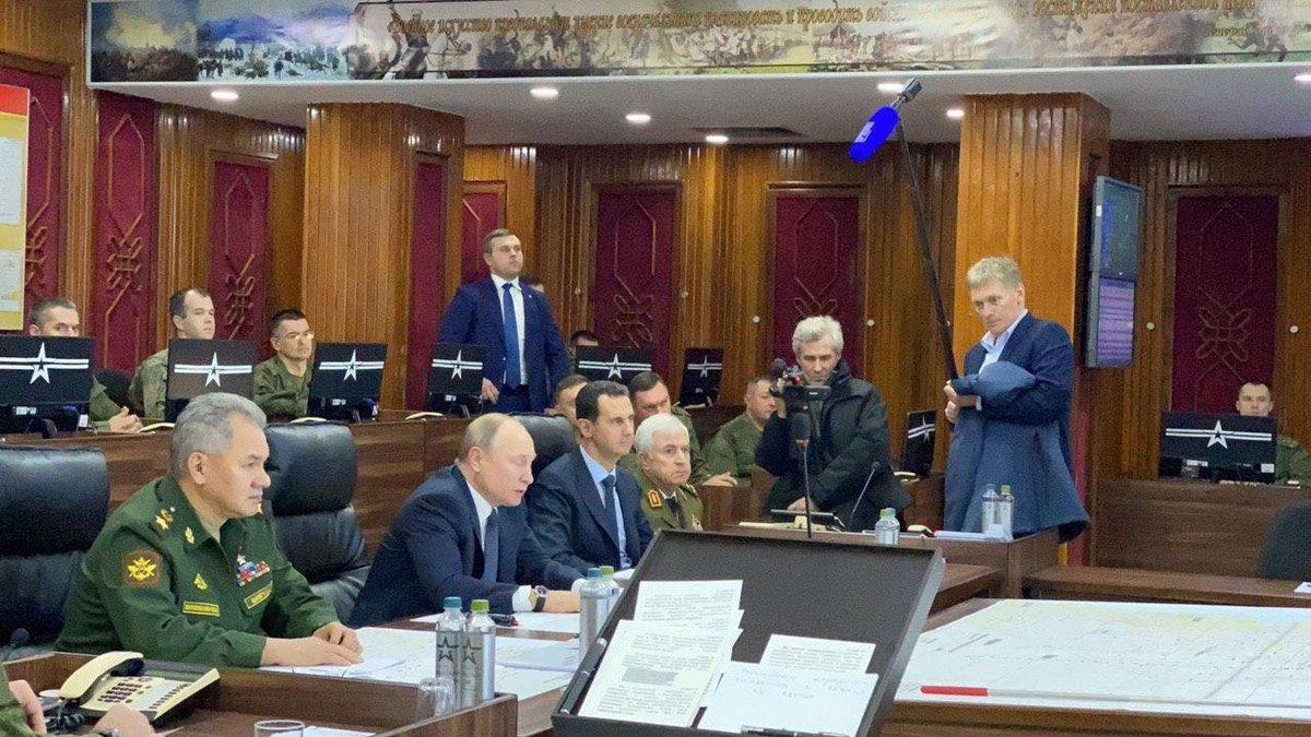 Путин прилетел в Дамаск