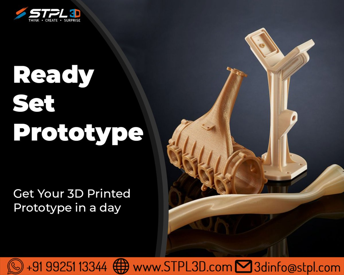 Get your 3D printed machinery parts in a day!  #3dprinting #technology #manufacturing #print #models #innovation #surat #india #design #3dprinter #3dpart #stpl3d #stpl #designer #tech #3dmodeling #cad #machinery #parts #prototype