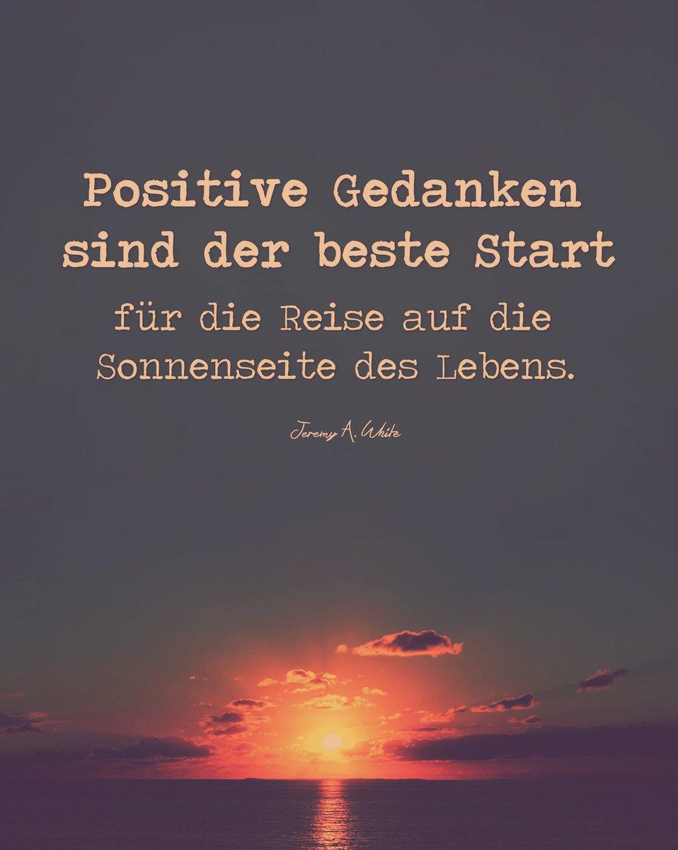 Einen wunderschönen Start für die Reise auf die Sonnenseite des Lebens Euch allen! #PositiveGedanken #Motivationpic.twitter.com/vgyhR1Bc2M