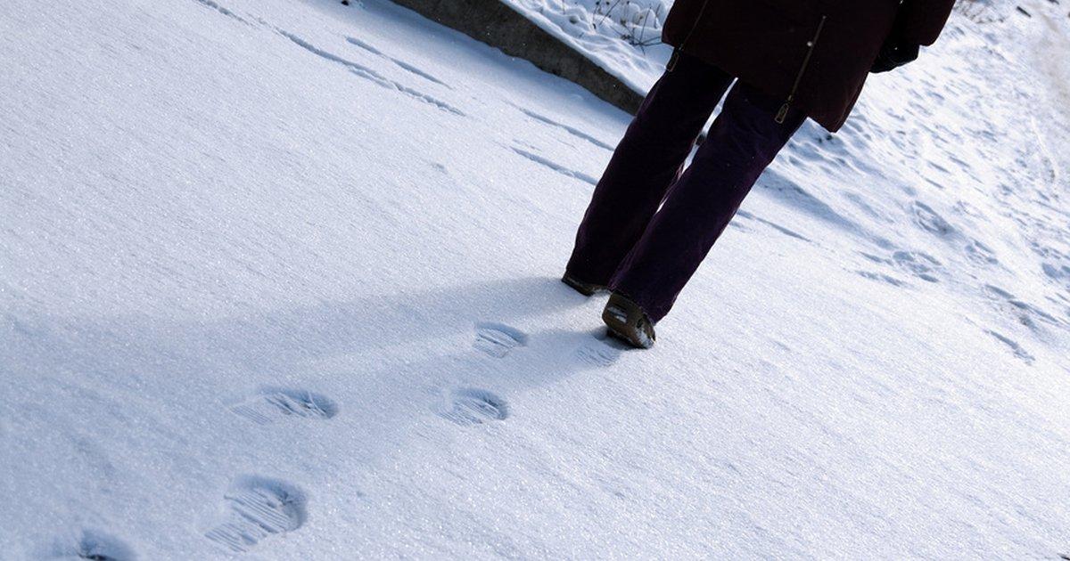 тут следы двоих на снегу картинки среди них является