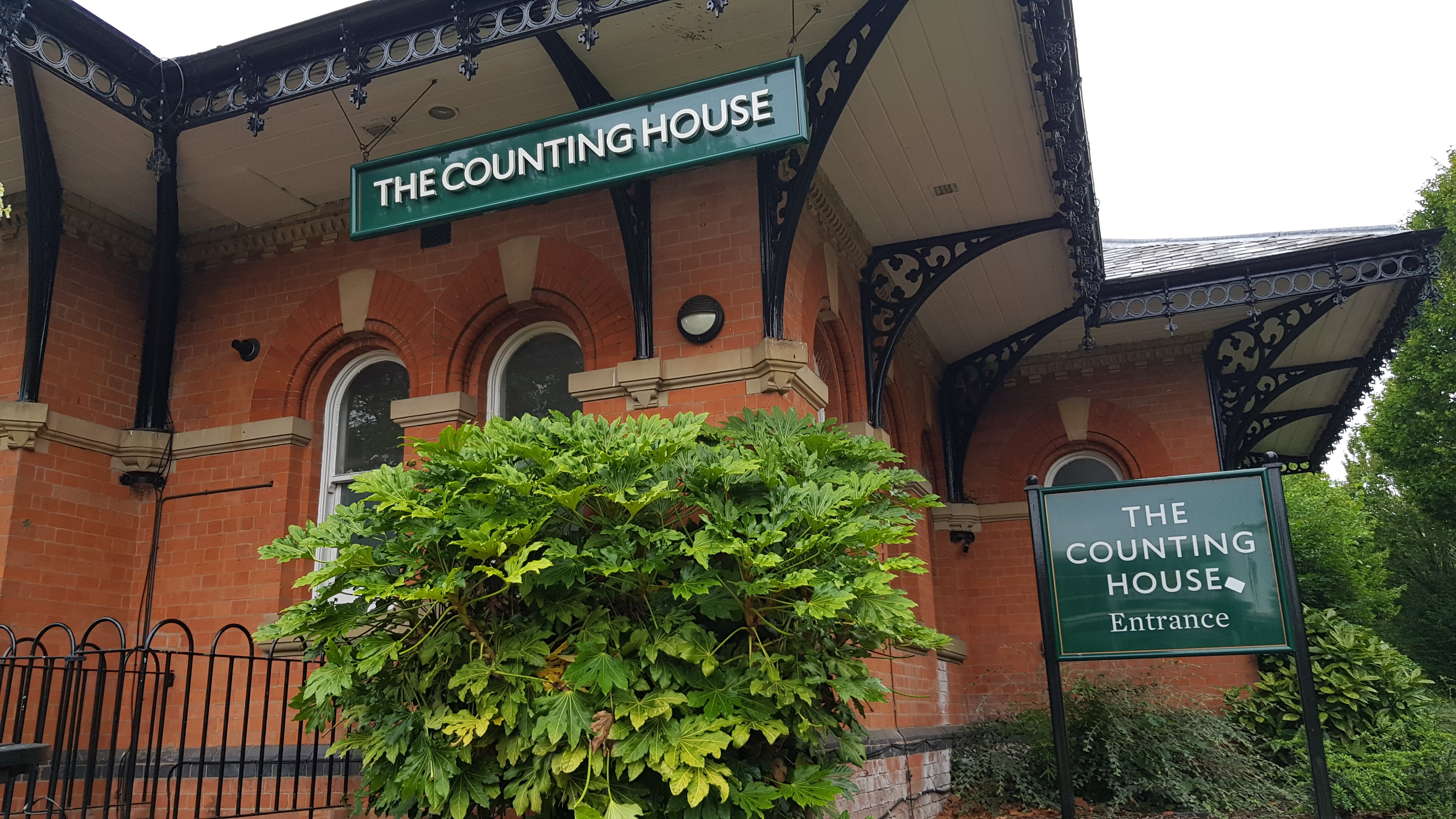 The Counting House is popular with fans visiting the King Power Stadium