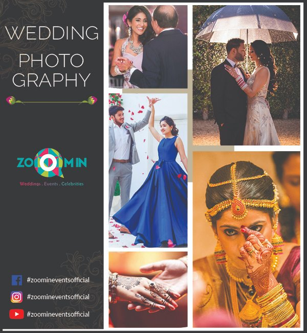 From #preweddingshoots to narrative #moments, let us weave a fairytale that is pure love. We provide exceptionally professional #weddingphotography. Call us now! +91 9311453008 _____________ DM For Queries ________ #zoomineventsofficial #SpecialMoments #WeddingShoots pic.twitter.com/GNi4ceHwiI