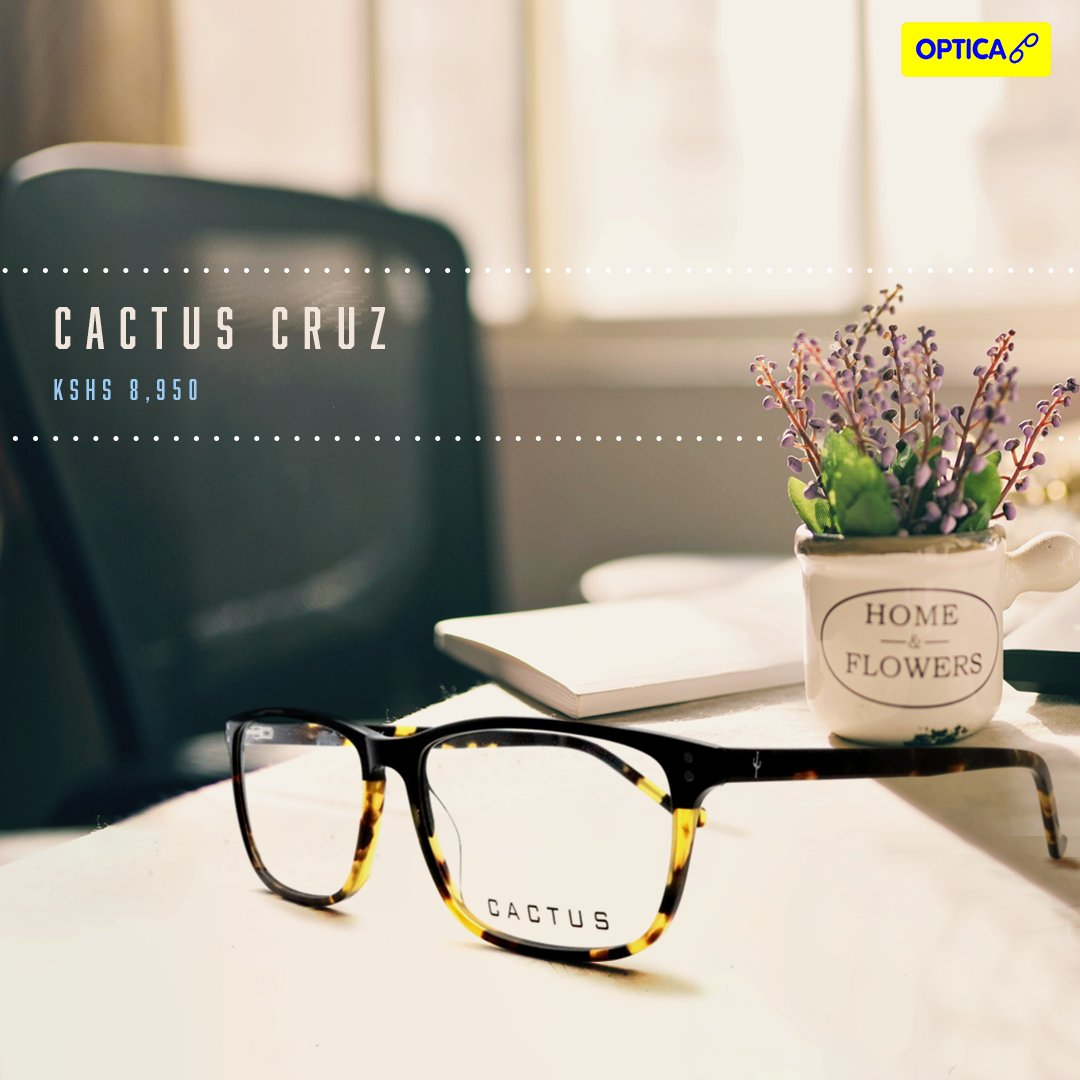 Get over the #MondayBlues with these elegant pair of #Cactus frames. Product link - https://optica.africa/collections/mens-frames/products/cactus-cruz …pic.twitter.com/fsxrNeFCmL