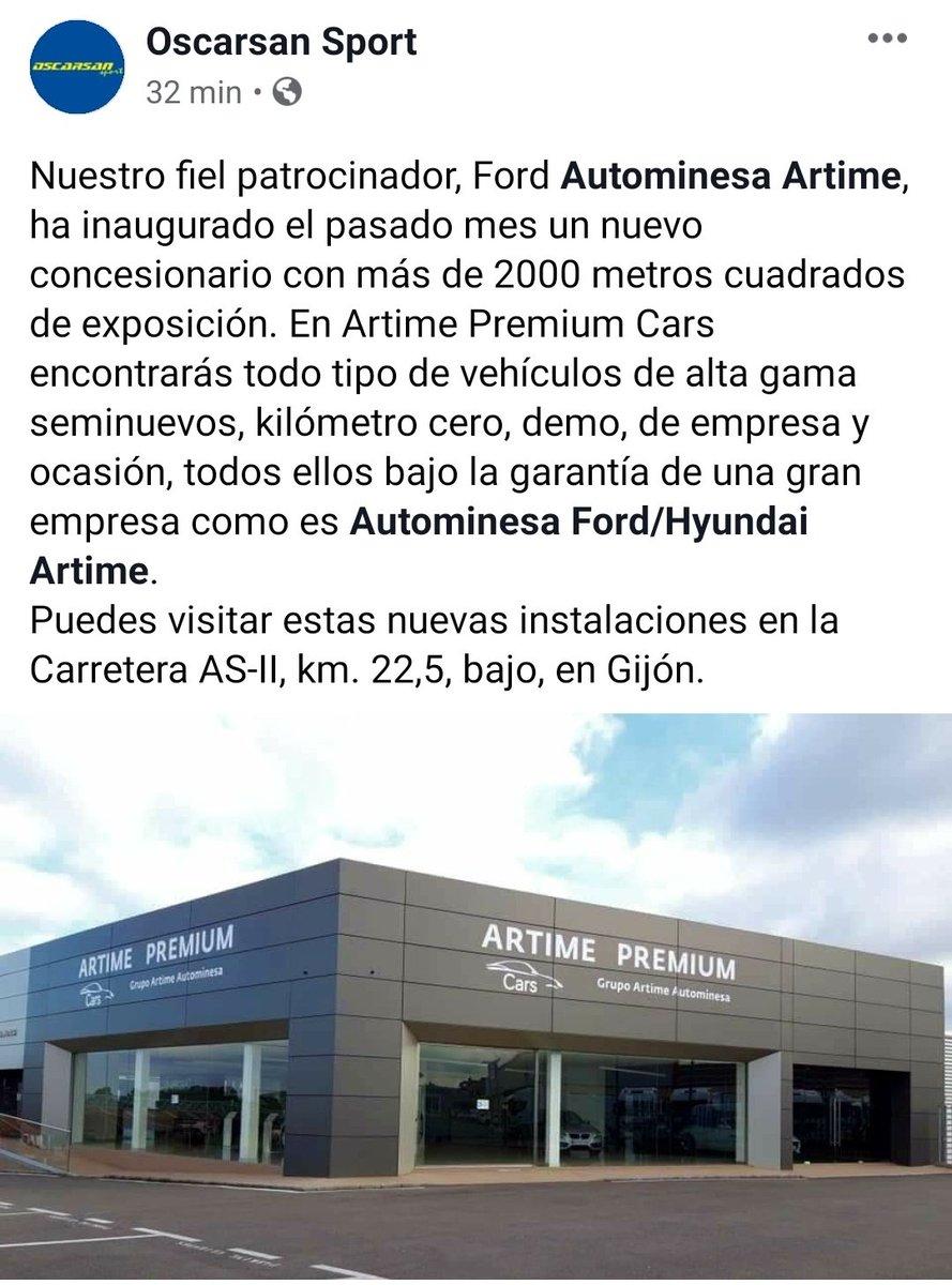 NUEVA SEDE DE NUESTRO FIEL PATROCINADOR, FORD AUTOMINESA ARTIME. #autominesaartime #autominesafordhyundaiartime #artimepremiumcars
