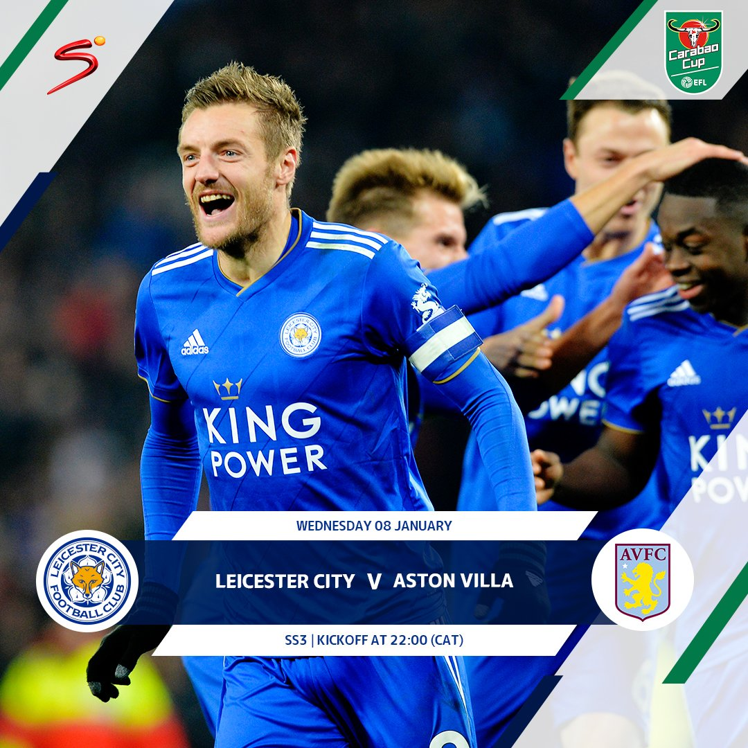 Leicester City and Aston Villa face off in their 1st-leg semi-final #CarabaoCup clash at the King Power Stadium tonight.
