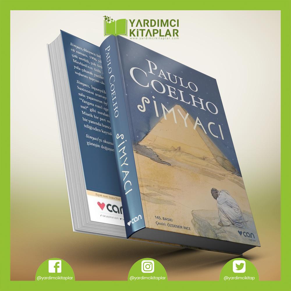 > GÜNÜN KİTAP ÖNERİSİ < Paulo Coelho - Simyacı Can Yayınları #kitap #kitapönerisi #yardımcıkitaplar #kitapokuyalım #book #bookofday #roman #soneryalçın #karakutu #masalatölyesi #şiir #edebiyat #instabook #okumakitabı #yazar #paulocoelho #simyacı #canyayınları