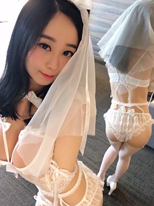 コスプレイヤー沙織(Saori Kiyomi)のTwitter自撮りエロ画像2