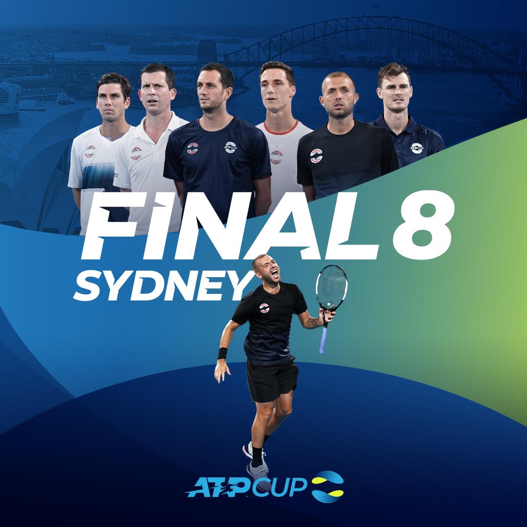 Сборная Великобритании вышла в четвертьфинал ATP Cup