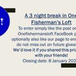 Image for the Tweet beginning: WIN A 3 NIGHT BREAK We