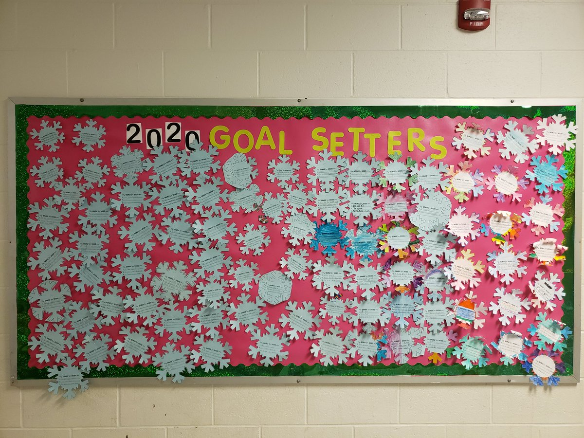 What are your goals for 2020? Our fifth graders are goal setters! @NPSchools @CrossroadsScho1