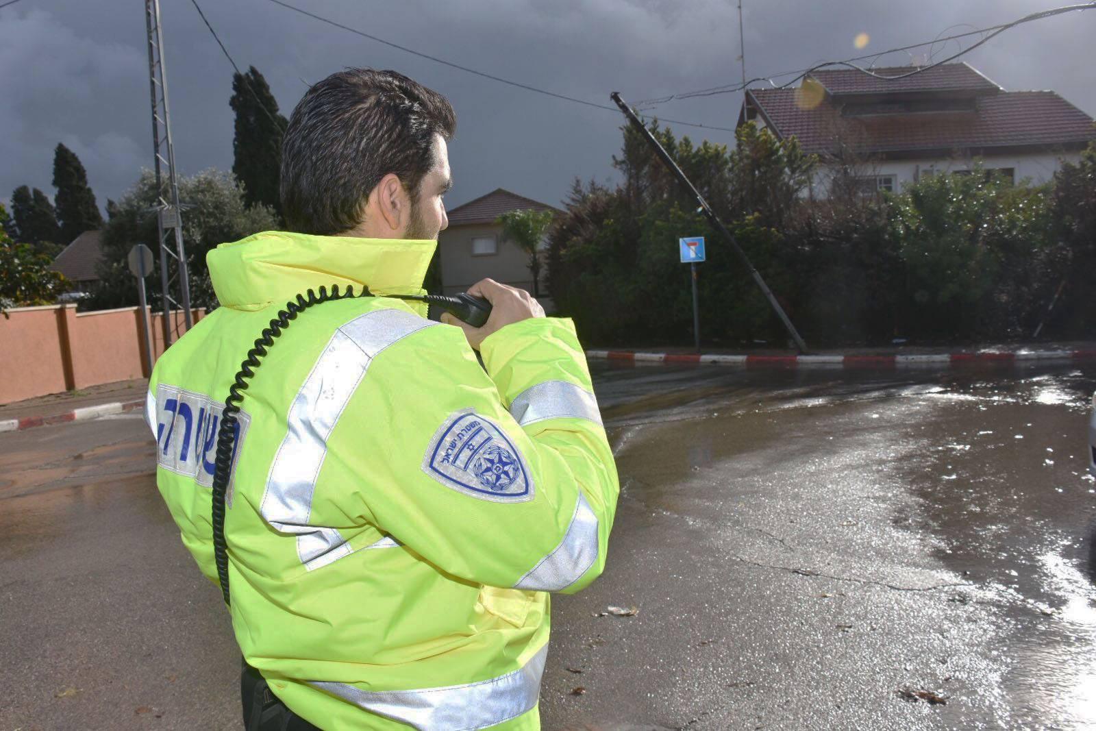 היערכות לקראת מזג אוויר סוער והמלצות לנהגים ומשתמשי הדרך