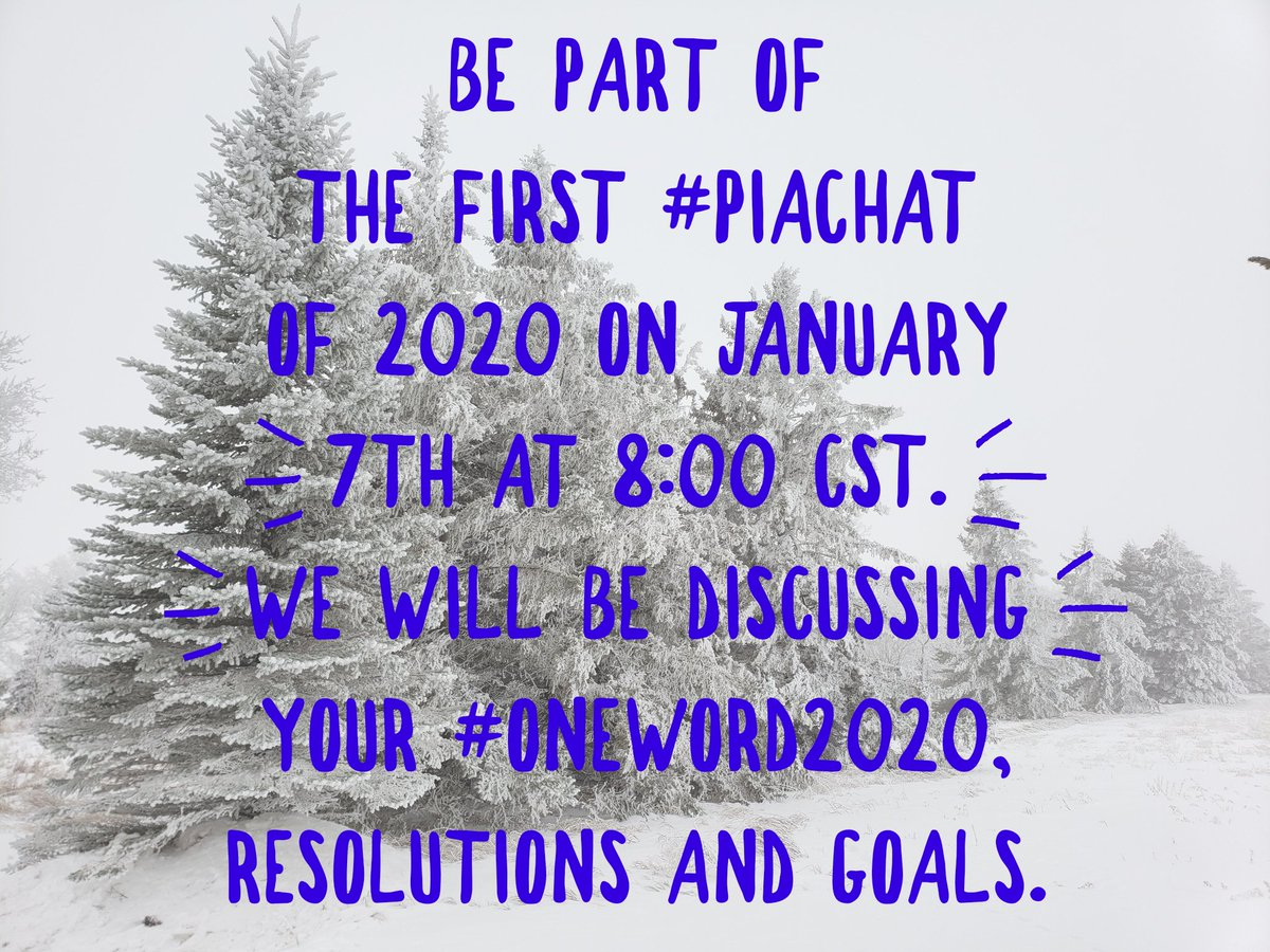 #PIAChat is back tonight! Be part of the chat! #PrincipalsInAction