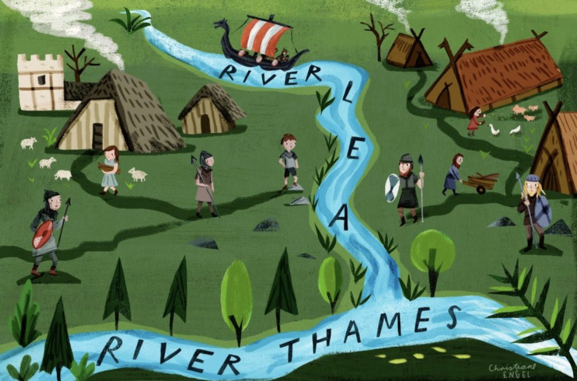 Pretty cool read: Viking Legends of The Lea. canalrivertrustwaterfront.org.uk/history/viking…