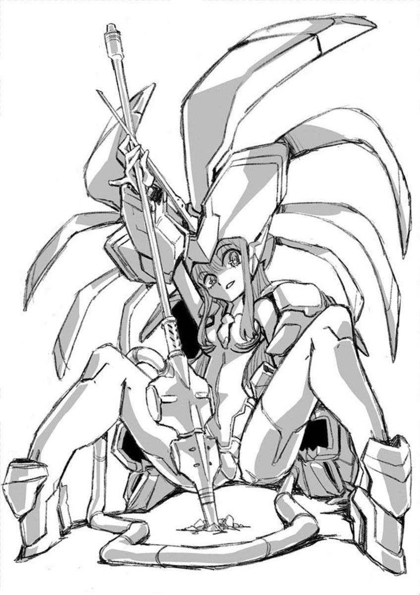 Pragmatico Holdings On Twitter Darling In The Franxx Strelizia By Hiroyuki Imaishi Darli Fra Anime