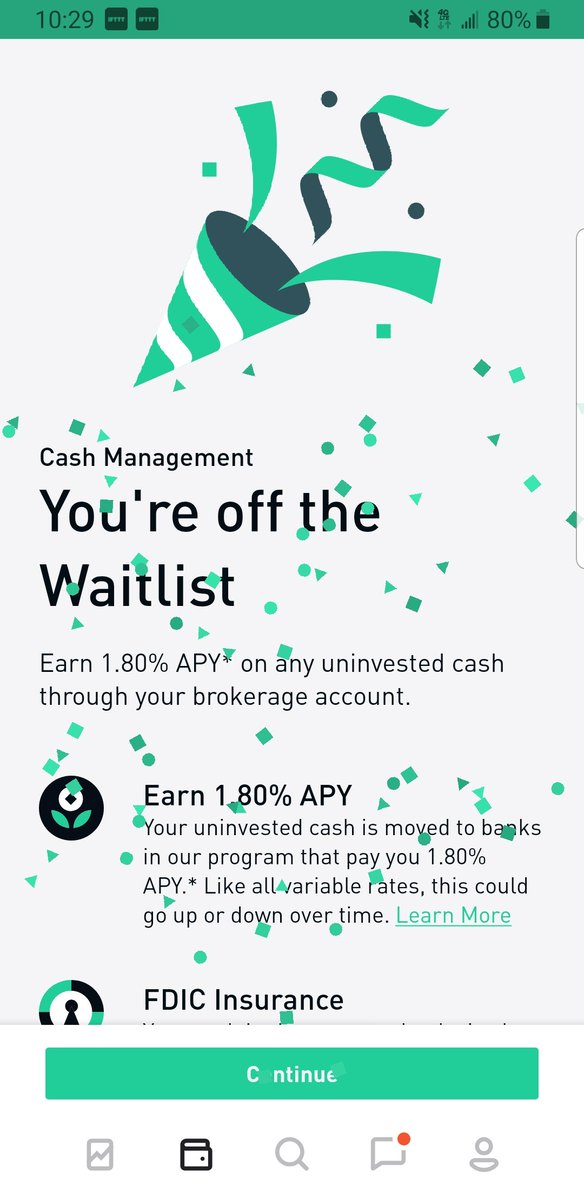 Robinhood On Twitter We Re Working Our Way Down The Cash Management Waitlist Which Means That Debit Cards Will Soon Be Arriving At Your Door Who S Ready To Unwrap Their New Card Make