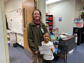 Moonlight Spotlight - Kylah for her hard work and dedication to reading! Way to go!!
