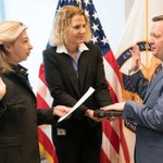 Image for the Tweet beginning: Sworn in on January 6