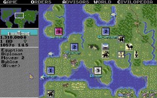 Sid Meier's Civilization for Amiga. Could not stop playing. Those were the days #sidmeier #civilization #gaming #amiga #90s #90skidpic.twitter.com/Oz6bhX1VUW