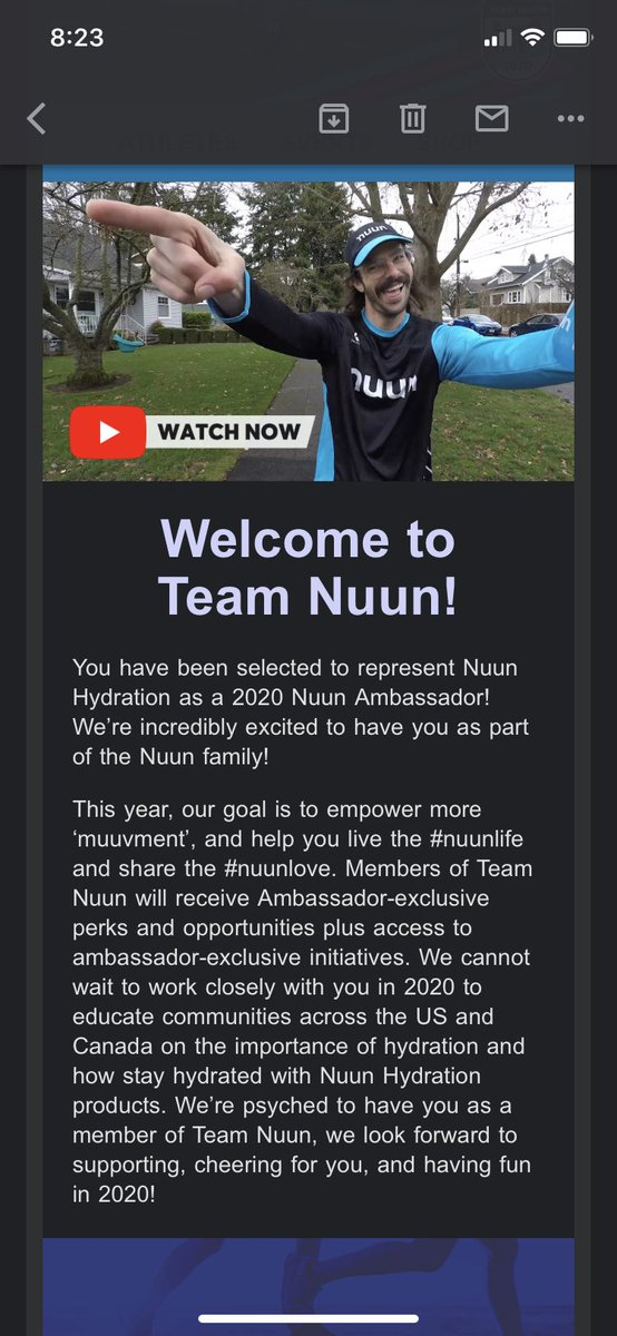 I'm in!!! So proud to be a #Nuunbassador 3rd year in a row! Thanks @nuunhydration I'm such a believer in your product I'd be bummed if I hadn't made it. Plus I've really grown to love my VegasNuun team!<br>http://pic.twitter.com/53ub77znts