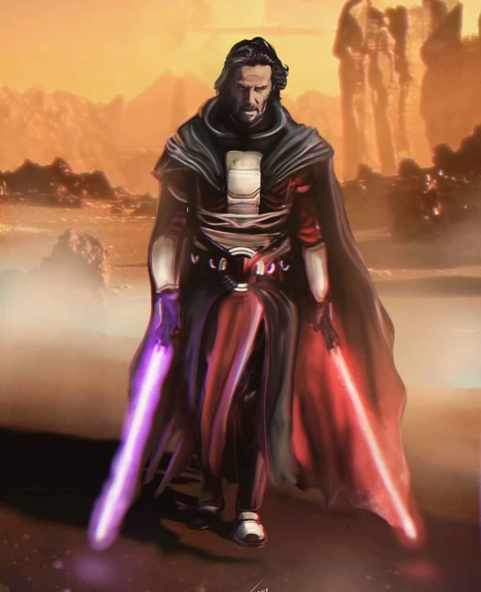 """KW😷 on Twitter: """"only Keanu Reeves can save the #StarWars franchise now  but I guess Disney will find a new way to ruin it instead  #RiseOfTheSkywalker 👎… https://t.co/wS8KFsN3lh"""""""