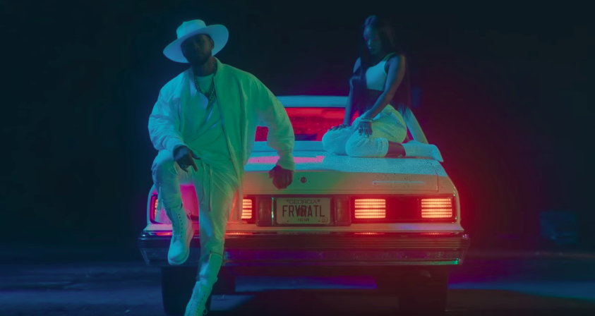Summer Walker and @Usher peruse throughout Atlanta in steamy Come Thru video Watch: at.vibe.com/p7ngw7