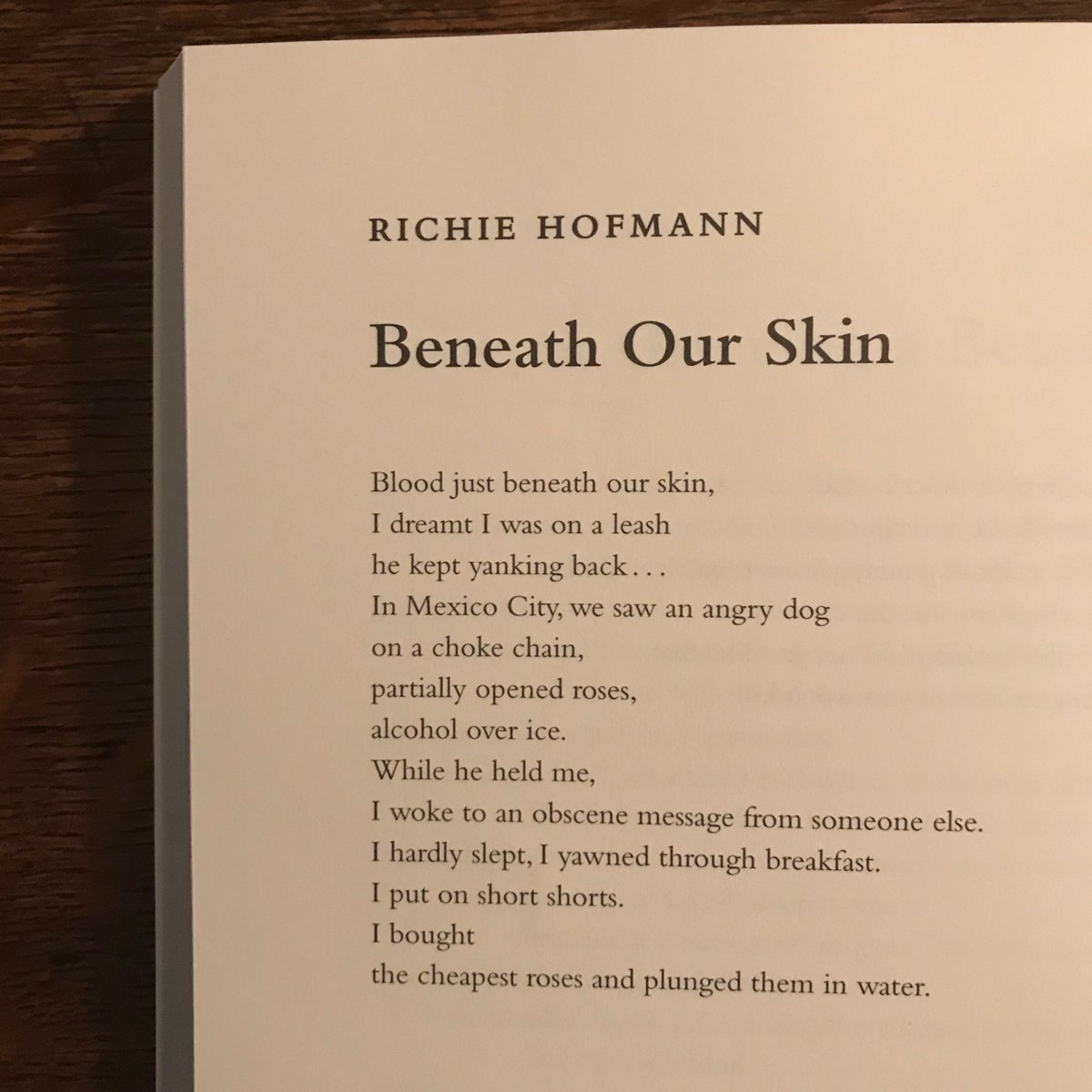 Richie Hofmann On Twitter My Latest Poem Beneath Our Skin Is Now Out In The 60th Anniversary Issue Of Massreview Be Sure To Get Your Subscription At Https T Co Zq8zn8dyz4 And Celebrate Sixty Years The short poems collection from the writers at my word wizard proves that you can say it all in an economical fashion. richie hofmann on twitter my latest
