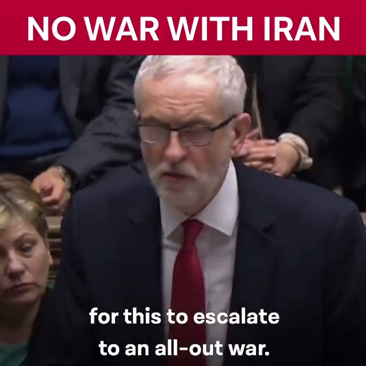 The government must rule out plunging our country into yet another devastating war.