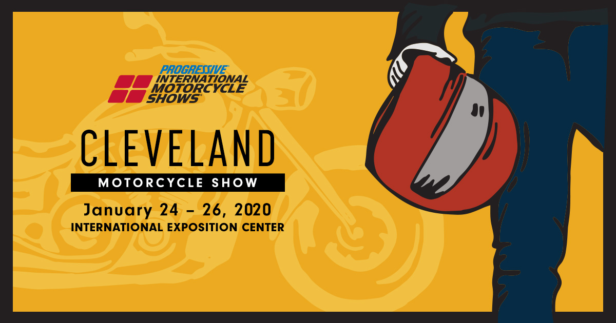 From Jan. 24th to 26th, at the I-X Center, is this year's Cleveland Motorcycle Show!  Be sure the stop by the Cycle Gear Mega Booth! There will be gear from the top brands that you love and special offers from Cycle Gear!   For tickets: https://t.co/FV4MMfNgfL https://t.co/ukJwGhgeHS