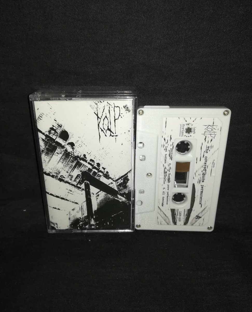 "#Kolp #Hungary ""The Covered Pure Permanence""  Limited to 44 copies  4€+postage⁠ ⁠ warproductions@gmail.com⁠  http://www.war-productions.org   #WarProductions⁠ #Mailorder⁠ #SupportTheUnderground⁠ #BlackMetalTapes #TapeKvlt⁠ #TapeFormat #TapePorn #BlackMetalCollection pic.twitter.com/NqytiKliAw"