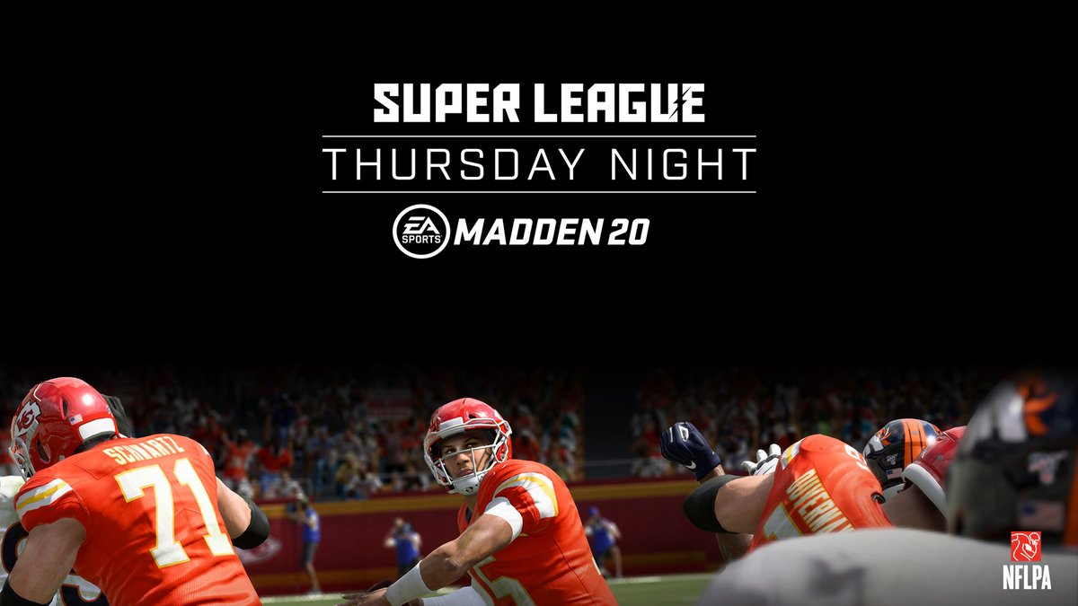 .@EAMaddenNFL is making its way to Brooklyn Center, Charlotte, and Houston this Thursday night at @Topgolf! Compete in 1v1 matches to test your skills and take home the prize. Free to play, all skill levels welcome. Select your city: bit.ly/superleaguemad…