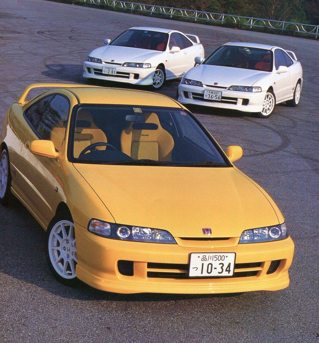 Two better than one, or three's company?  #ENEOS | #Honda | #IntegraTypeR | #DC2R | #JDMpic.twitter.com/CV76JuDlzh