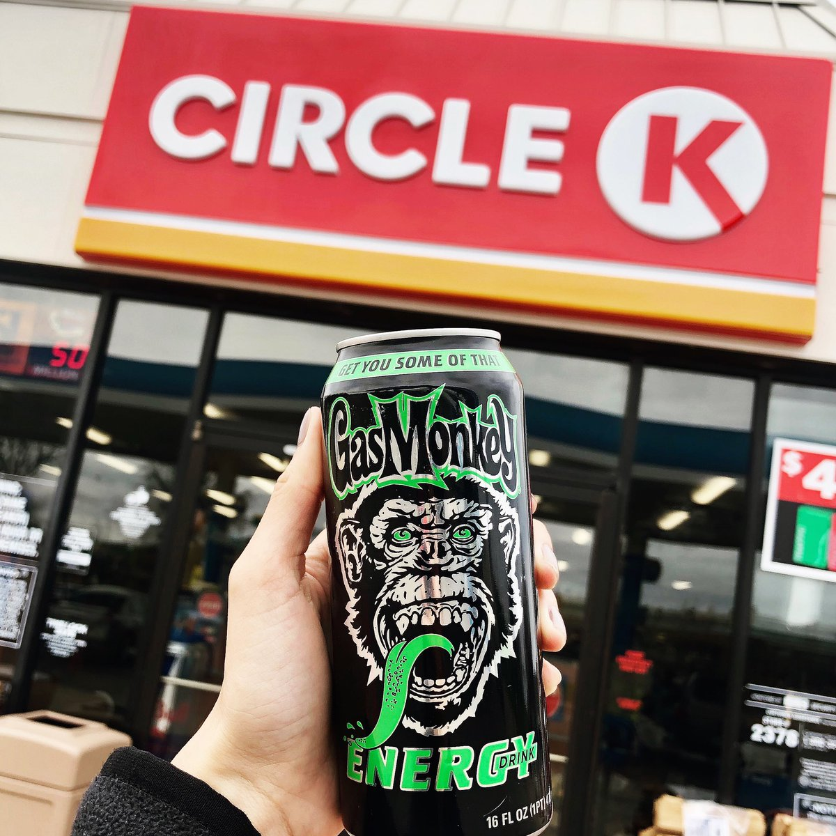 @circlektexas has your back!  Swing by and pick up some Gas Monkey Energy!  Who wants one?  #like #circlek #ganci #likemyphoto #circlekstore #circlekconveniencestore #likeforlike #circlekusa #circlektexas #circlektx #gasmonkeyenergy #gysot #gasmonkey #conveniencestore #yumpic.twitter.com/7o4WV8difM