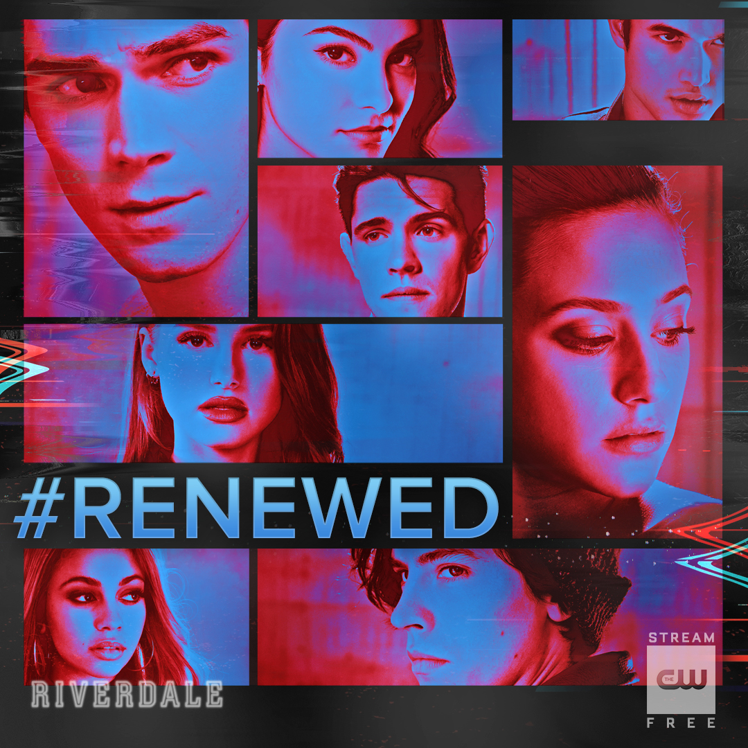 This town never runs out of mysteries. #Riverdale has been renewed for Season 5!