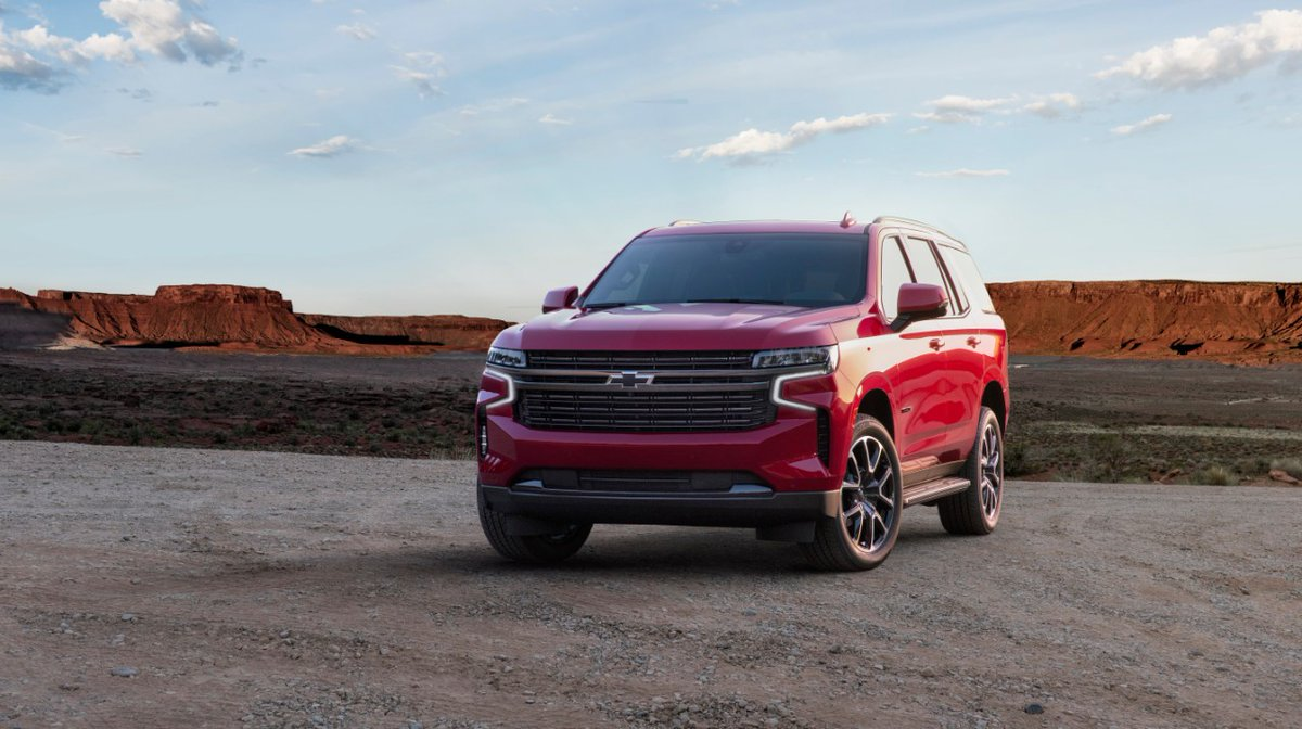 An icon reimagined. Introducing the 2021 #Chevrolet #Tahoe.⁣ Look for it on sale at WallaceChev mid 2020. https://t.co/mDlfEIsYK2