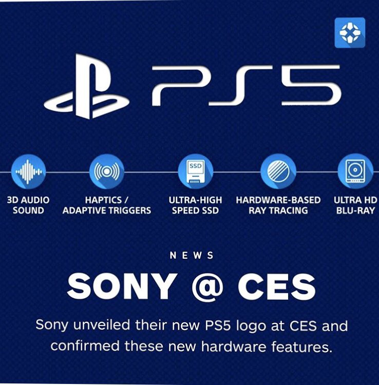 Some new info on the PS5 thanks to #ign.  #liquidxfusion #ps5 #gamingconsole pic.twitter.com/Xfdt1tXyTJ